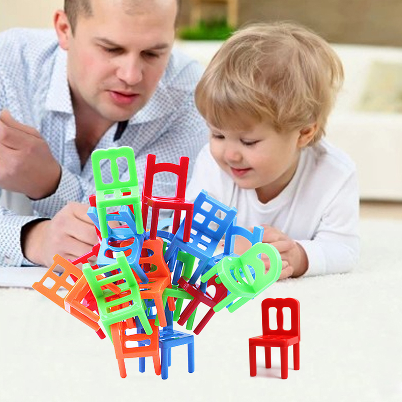 New-Plastic-Educational-Toy-Balance-Stacking-Chairs-for-Kids-font-b-play-b-font-at-desktop